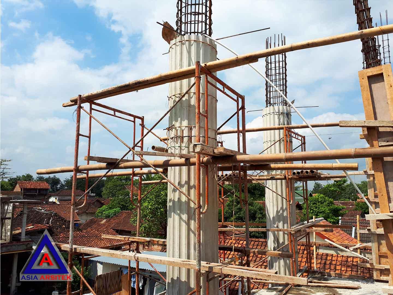 Proses Pembuatan Pilar Jasa Desain Rumah Klasik/Classic Mewah Pak Wagiyanto Di Yogyakarta