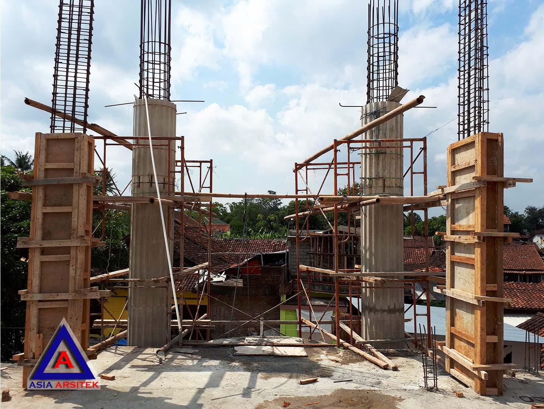 Pemasangan Bekisting Kolom Jasa Desain Rumah Klasik/Classic Mewah Pak Wagiyanto Di Yogyakarta