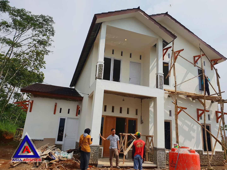 Realisasi Desain Rumah Klasik Classic Belanda Ibu Lisda Di Bandung Kunjungan Feb 2019