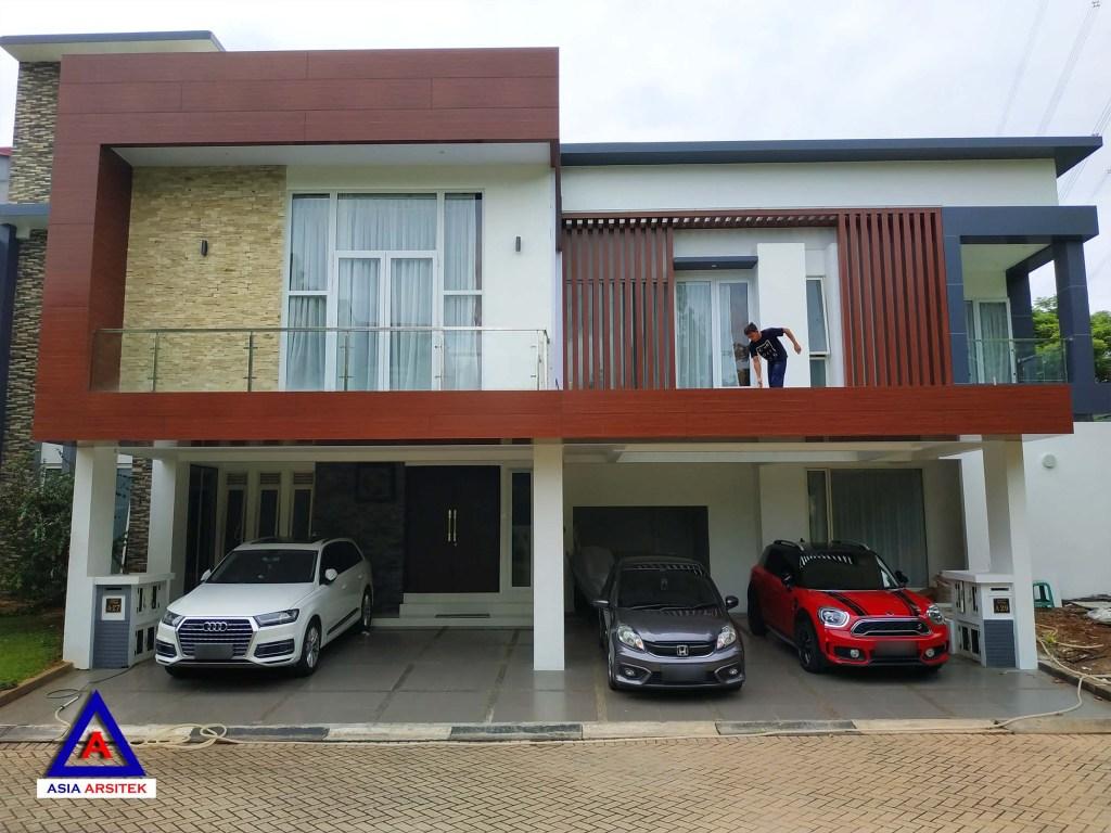 Realisasi Desain Rumah Modern Mewah Di Tangerang Kunjungan Maret 2019