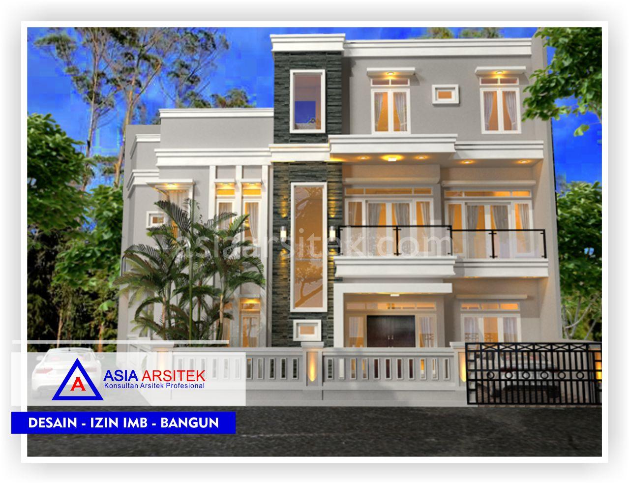 Portofolio Realisasi Rumah Minimalis 2 5 Lantai Bpk Hendra Sun Kho