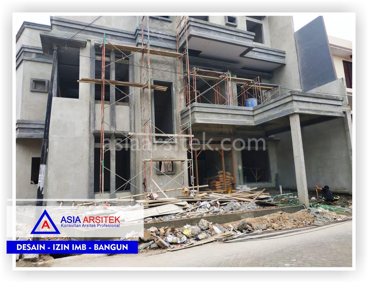 Tampak Depan Rumah Bpk Hendra Sun Kho - Arsitek Desain Rumah Minimalis Modern Di Tangerang-Jakarta-Bogor-Bekasi-Bandung-Jasa Konsultan Desain Arsitek Profesional (1)