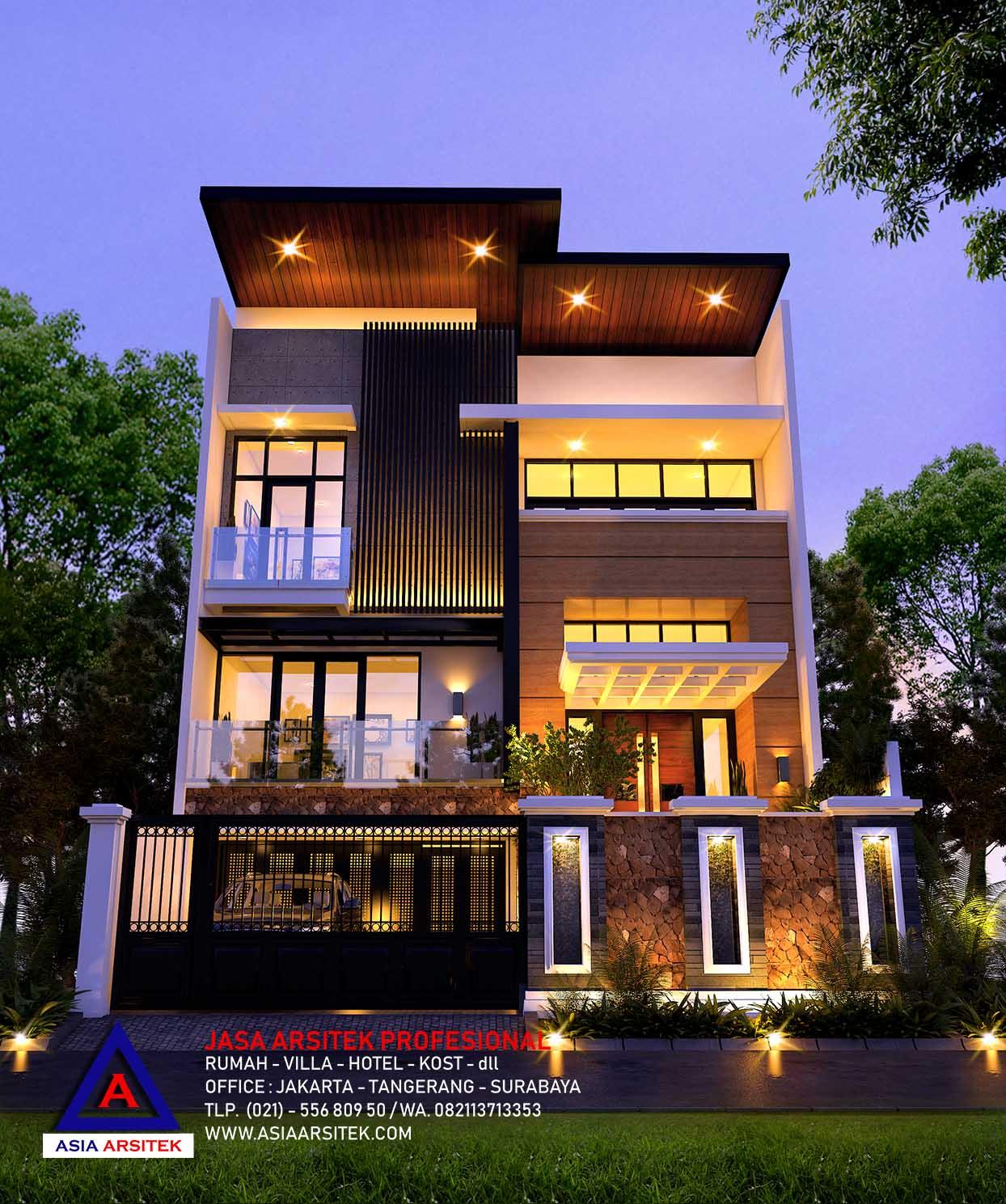 Desain Rumah Minimalis Modern Mewah Di Bekasi 4 | Arsitek ...