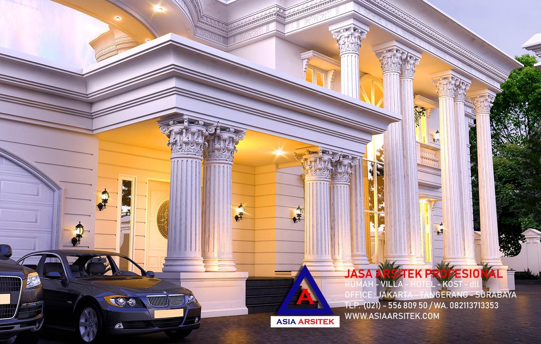 Jasa Desain Rumah Mewah Klasik Hook Modern Di Jakarta 19
