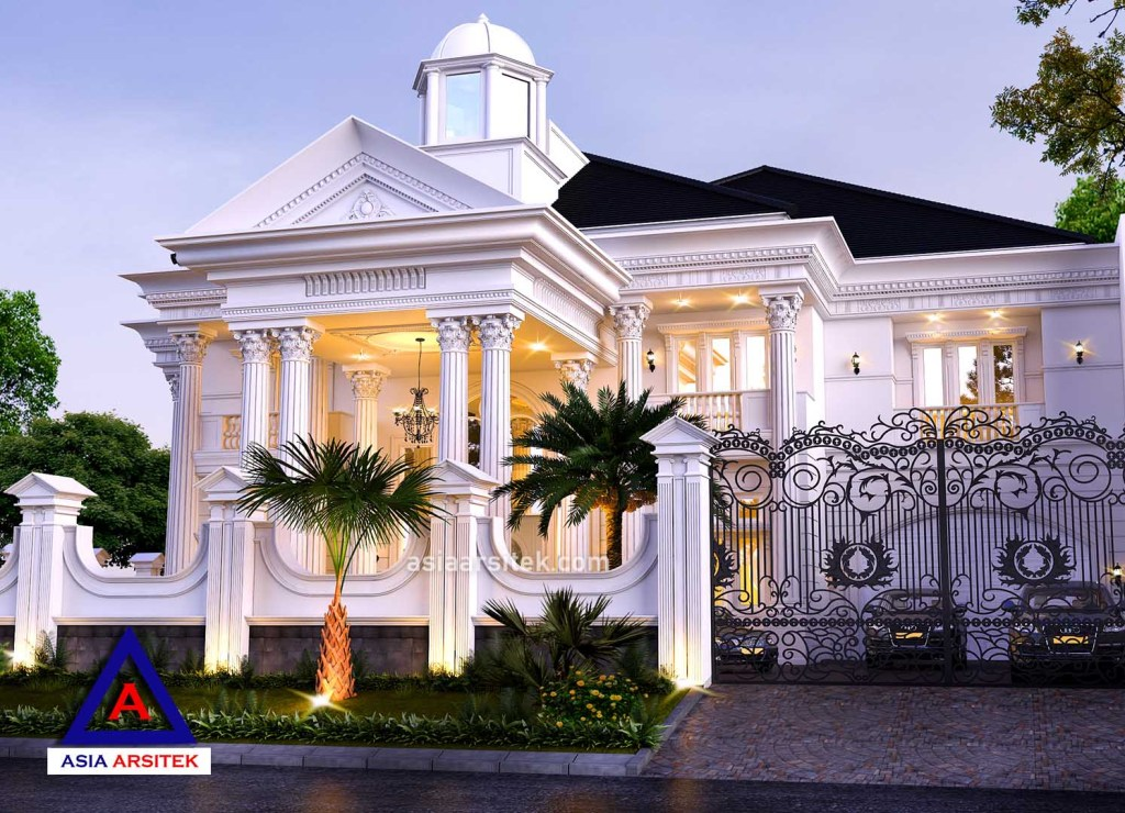 Desain Rumah Mewah Eropa 1 Lantai  jasa desain rumah mewah di kemanggisan jakarta barat asia