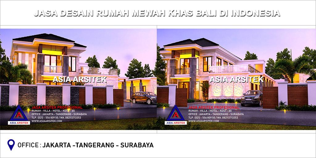 Desain Interior Rumah Mewah 1 Lantai  jasa arsitek desain rumah mewah bali di indonesia asia