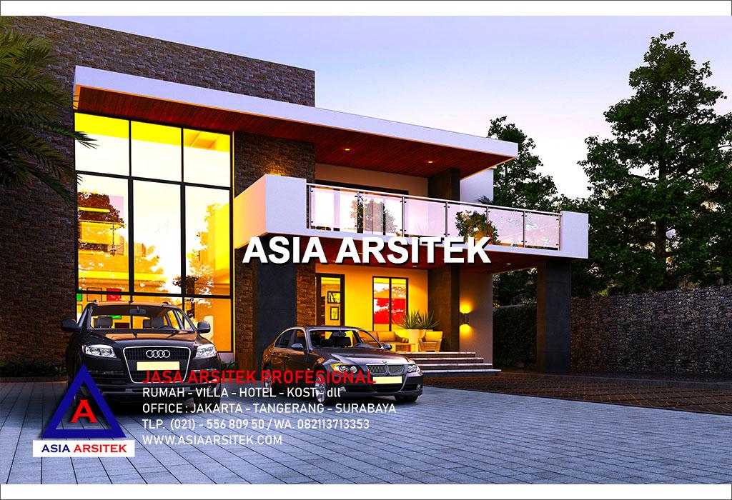 Jasa Arsitek Desain Gambar Rumah Mewah Ultra Modern Di Indonesia