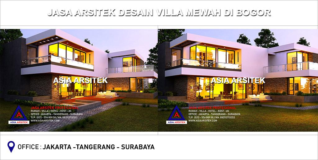 Jasa Arsitek Desain Gambar Villa Mewah Di Bogor