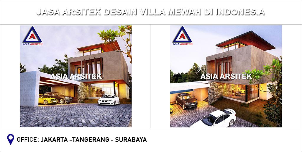 Jasa Arsitek Desain Gambar Villa Mewah Di Indonesia 08