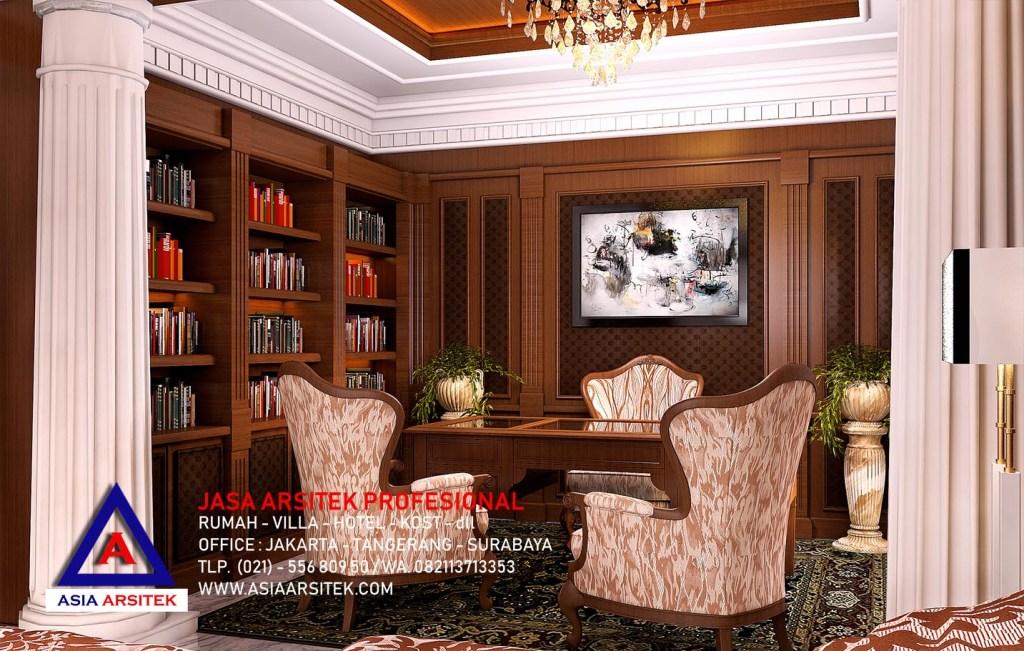 Jasa Arsitek Desain Interior Rumah Mewah Tropis Tradisional Jawa Di Jakarta 17