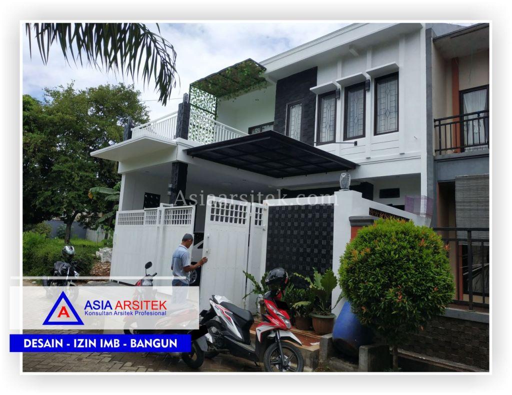Realisasi Tampak Depan Rumah Bpk Anton - Arsitek Desain Rumah Minimalis Modern Di Tangerang-Jakarta-Bogor-Bekasi-Bandung-Jasa Konsultan Desain Arsitek Profesional (1)