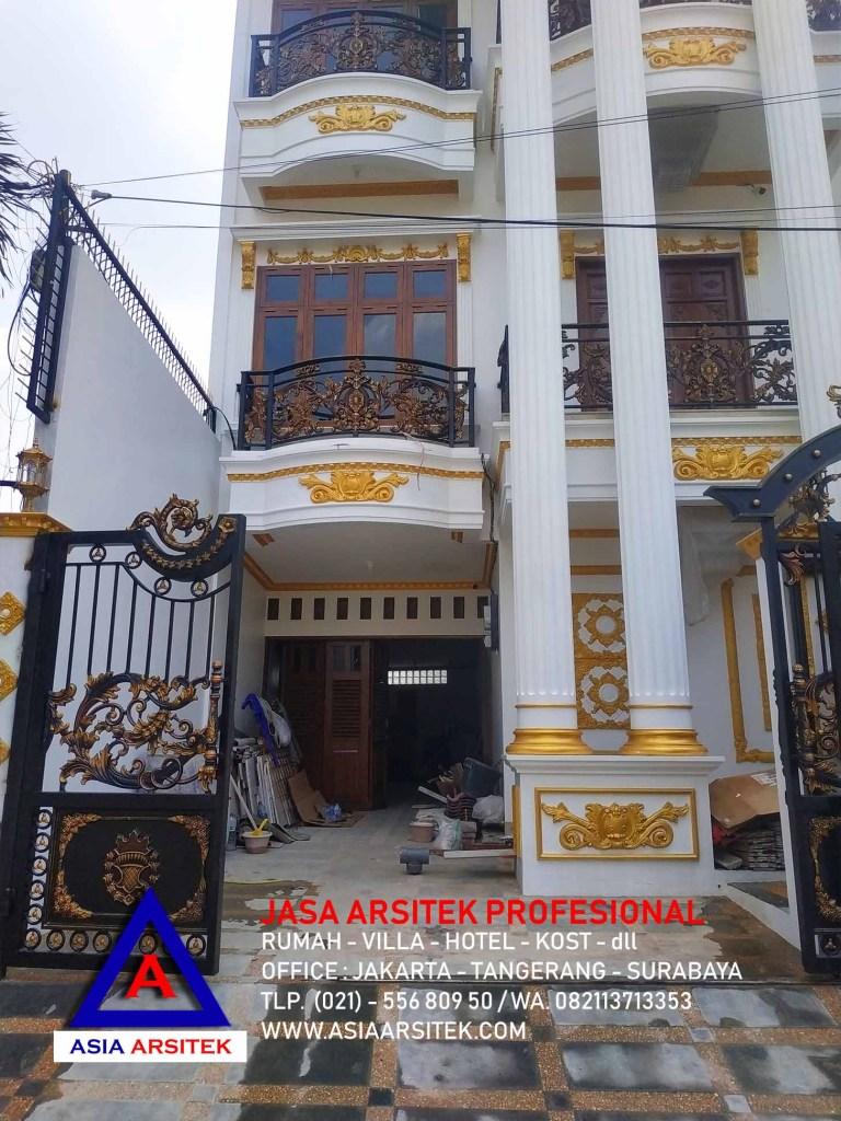 Realisasi Desain Rumah Mewah Klasik Di Jakarta Selatan Kunjungan Mei 2019