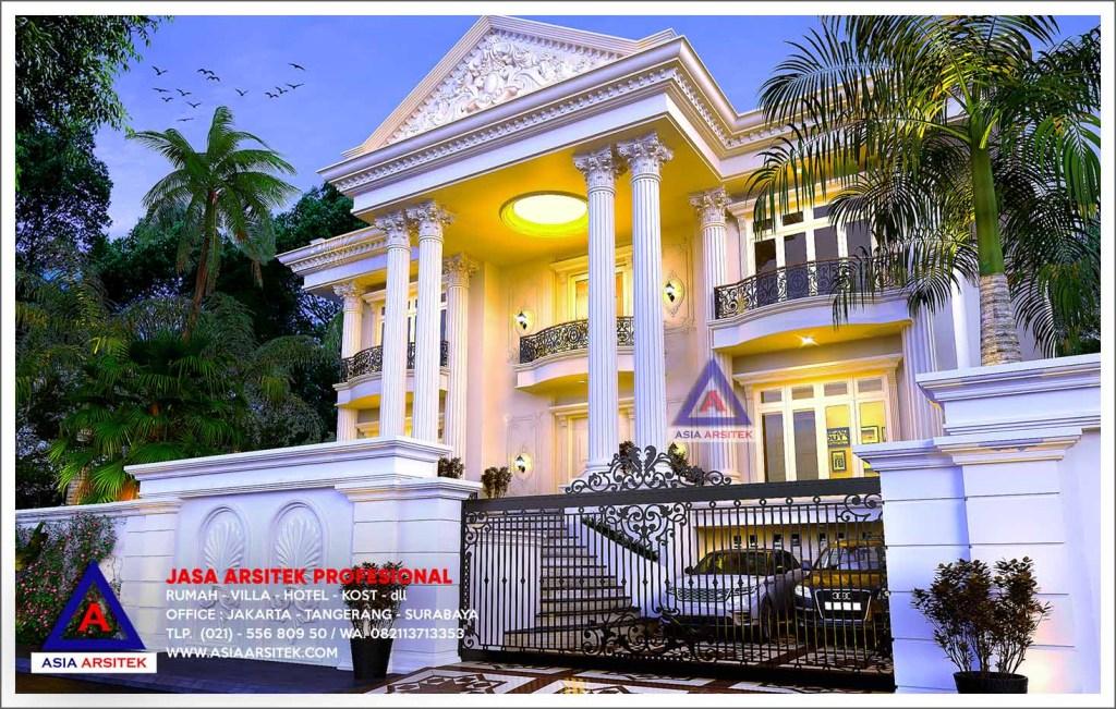 Jasa Arsitek Desain Rumah Mewah Klasik Di Kemang Jakarta Selatan