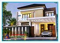 Jasa Arsitek Rumah Bekasi-Jasa Desain Rumah Bekasi-Jasa Gambar Rumah Mewah Tropis Modern Bekasi-Asia Arsitek-10