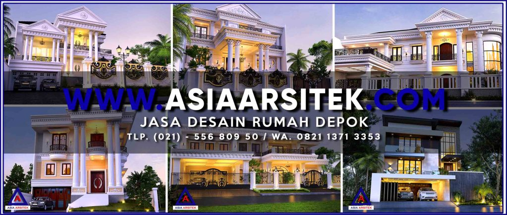 Jasa Desain Rumah Depok - Asia Arsitek