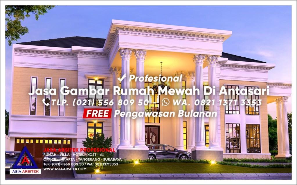 Jasa Gambar Rumah Mewah Di Antasari Jakarta Selatan