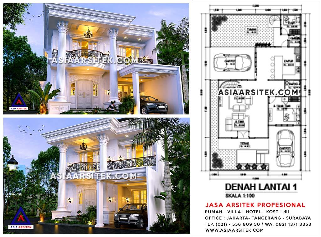 Jasa Arsitek Desain Rumah Mewah di Cikupa Tangerang