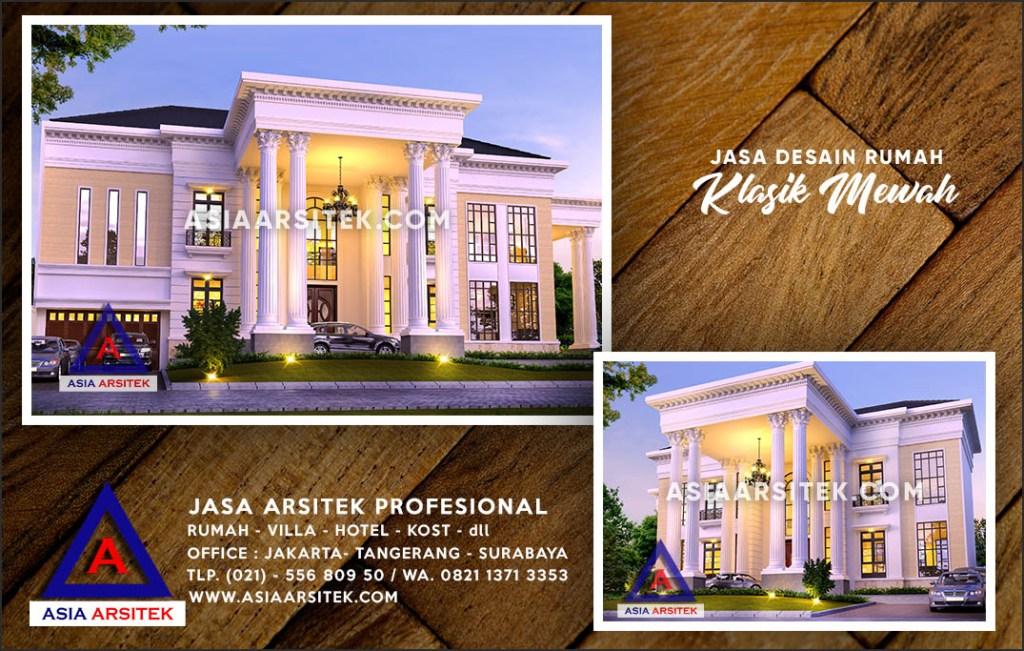 Jasa Arsitek Desain Gambar Rumah Mewah Di Cilodong Depok