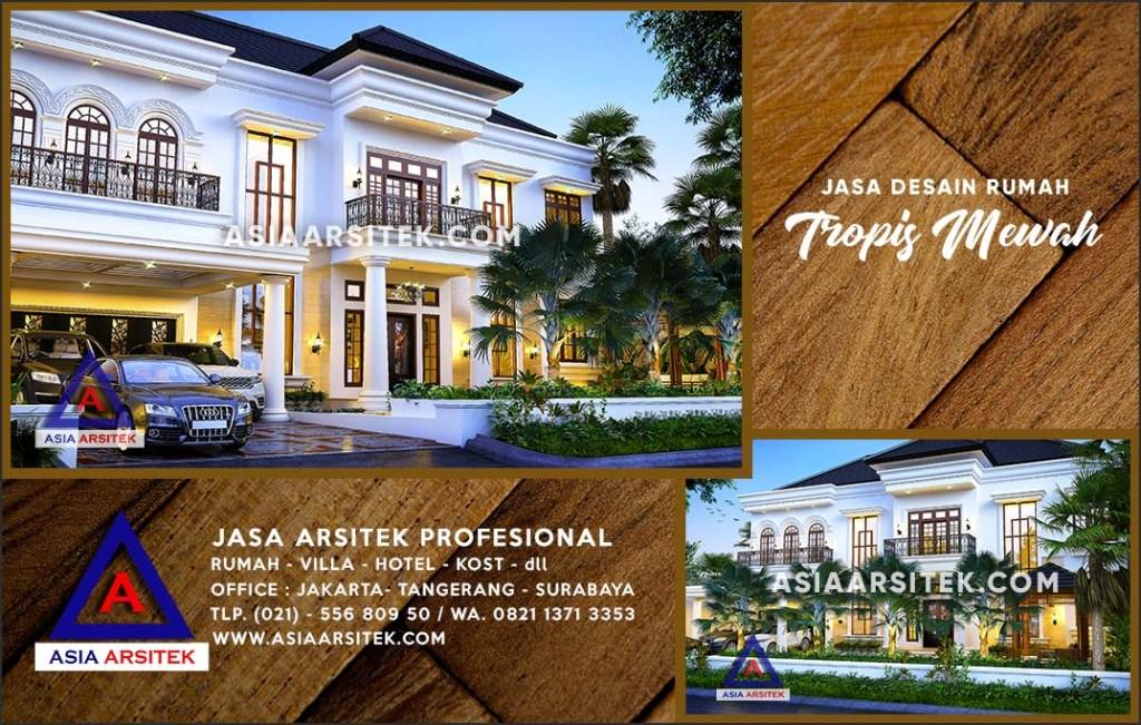 Jasa Arsitek Desain Gambar Rumah Mewah Di Cimanggis Depok