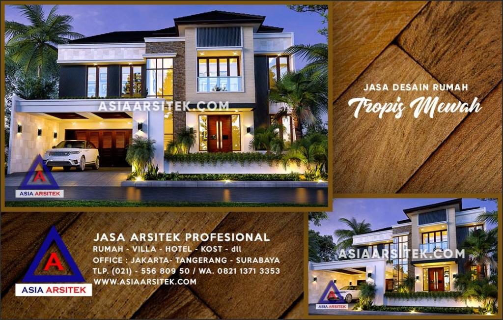 Jasa Arsitek Desain Gambar Rumah Mewah Di Gandul Depok