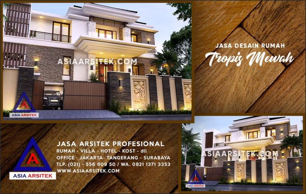 Jasa Arsitek Desain Gambar Rumah Mewah Di Mampang Depok