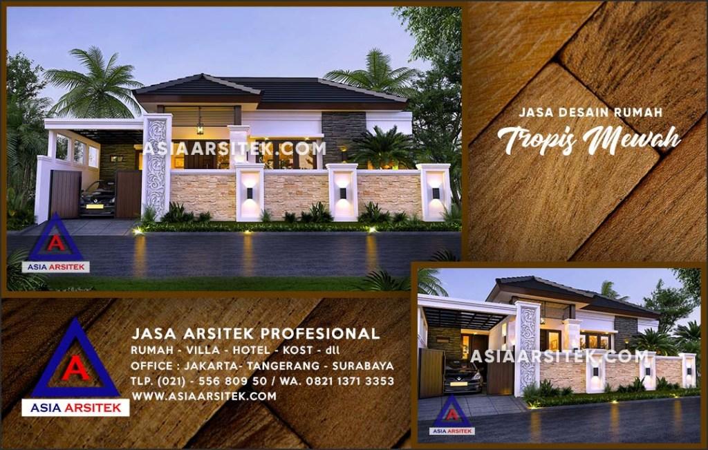 Jasa Arsitek Desain Gambar Rumah Mewah Di Pondok Jaya Depok