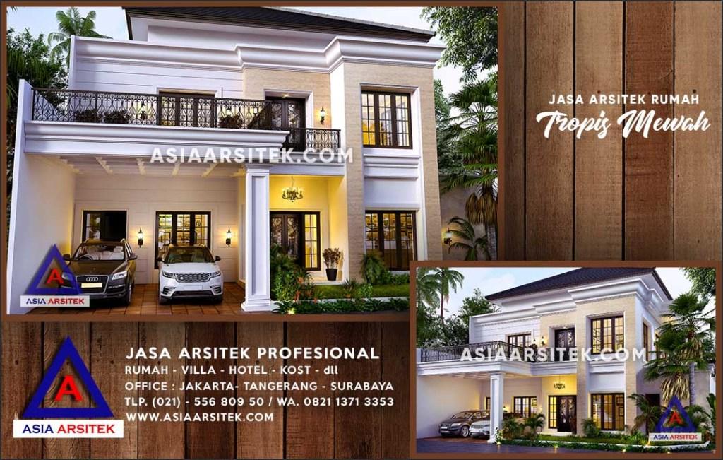 Jasa Arsitek Desain Gambar Rumah Mewah Di Pulang Pisau Kalimantan Tengah