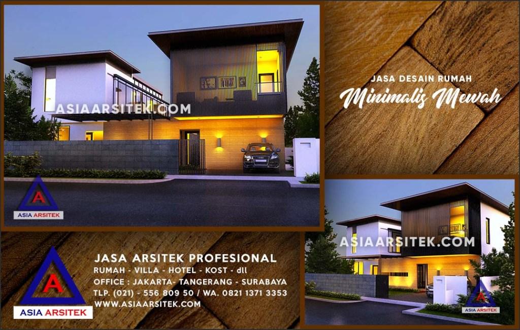 Jasa Arsitek Desain Gambar Rumah Mewah Di Sukmajaya Depok