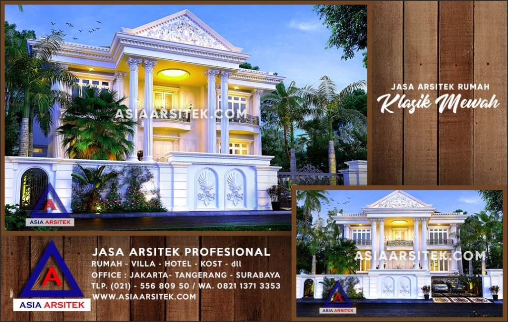 Jasa Arsitek Desain Gambar Rumah Mewah Di Tapin Kalimantan Selatan
