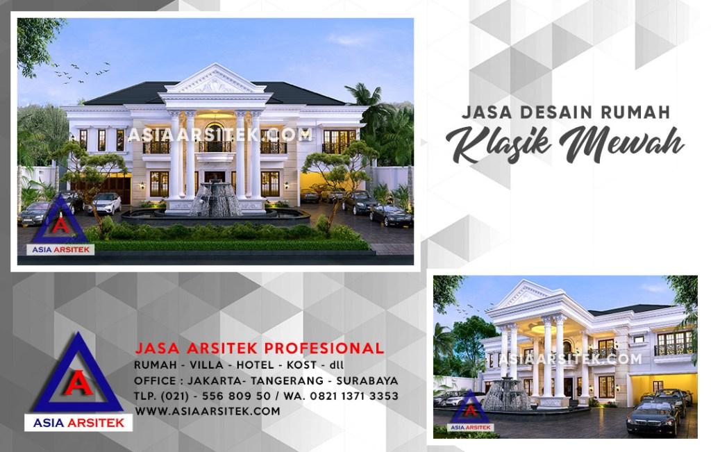 Jasa Desain Rumah Klasik Di Depok Jawa Barat
