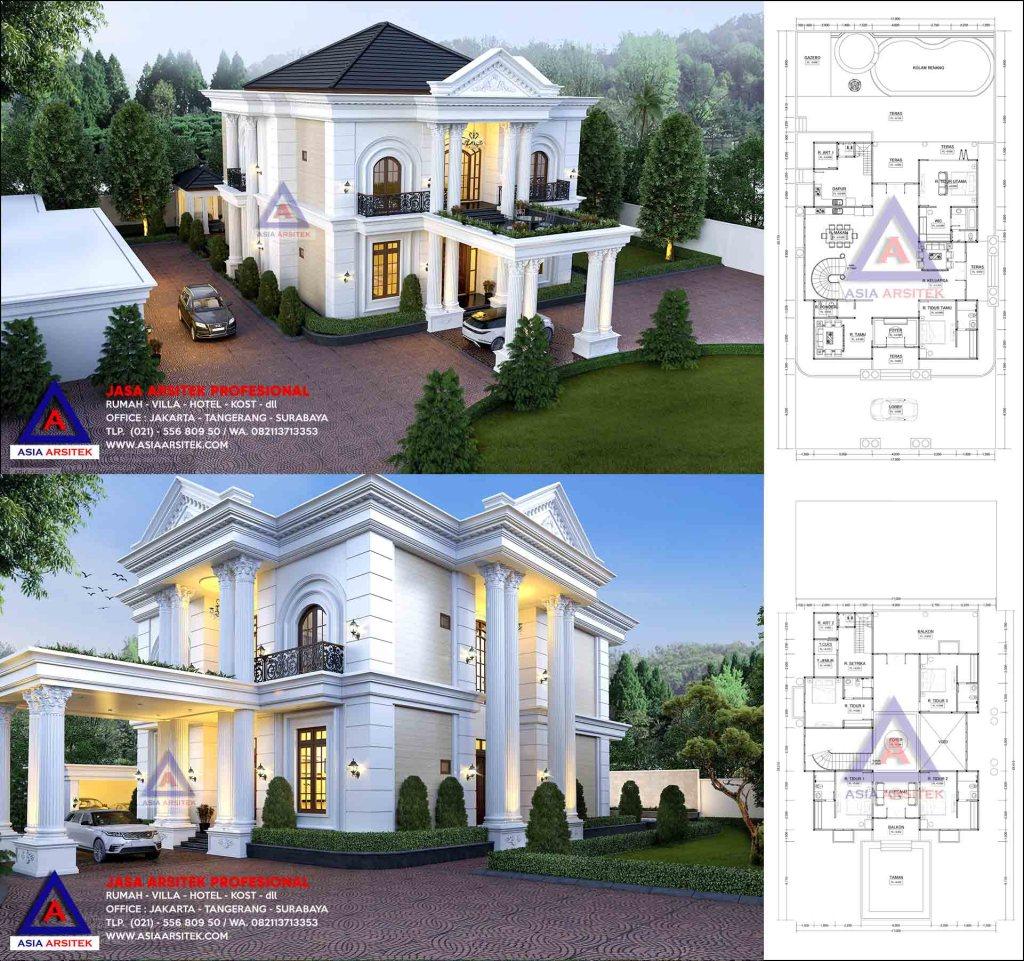 Jasa Arsitek Desain Rumah Mewah 2 Lantai Pak Sudirman Di Batam Kepulauan Riau