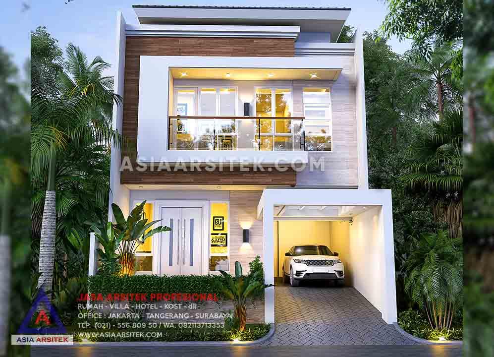 Jasa Desain Rumah Tinggal Minimalis 2 Lantai Di Tanah Sereal Bogor