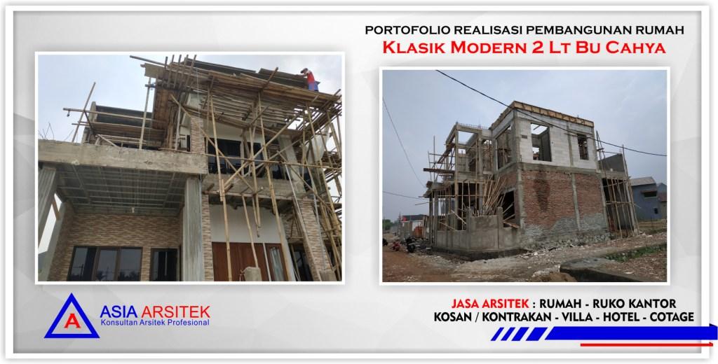 Portofolio-Realiasi-desain-proyek-rumah-klasik-modern-2-lantai-bu-cahya-Bekasi-Barat-Asia-Arsitek-1