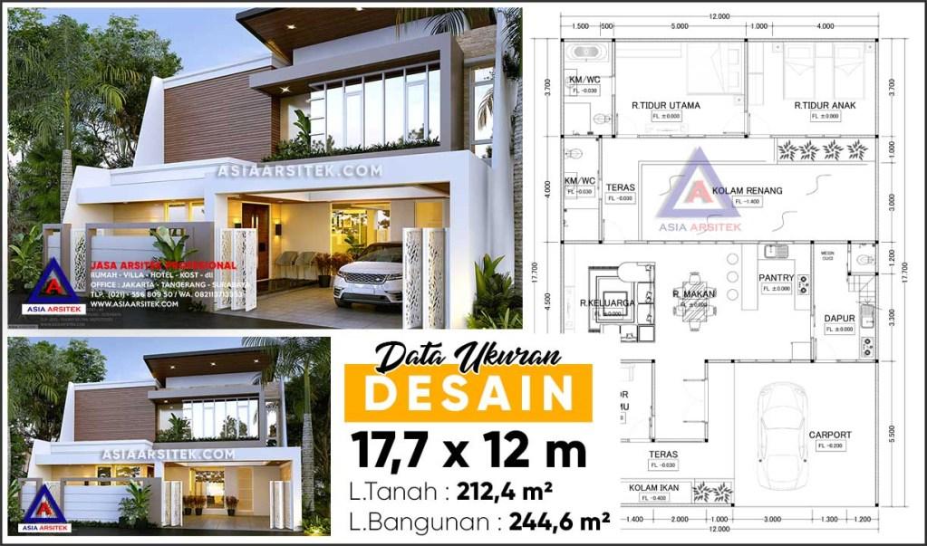 Jasa Desain Arsitek Gambar Rumah Minimalis 2 Lantai Di Tebet Jakarta Selatan