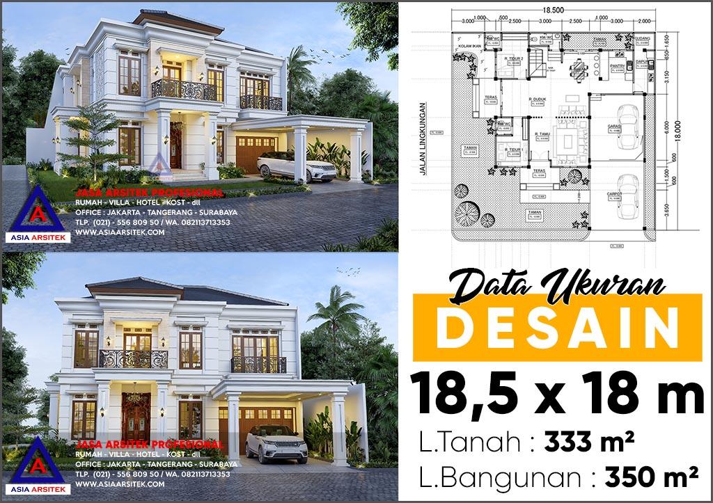 Jasa Arsitek Desain Rumah Mewah Tropis Di NTB Nusa Tenggara Barat