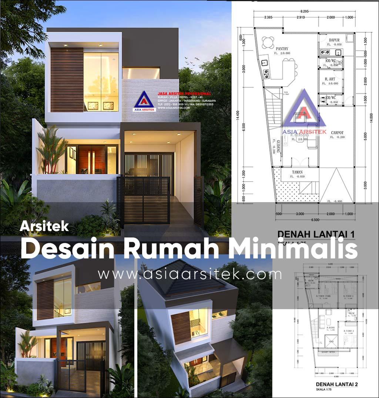 Jasa Arsitek Desain Rumah Minimalis 2 Lantai Di Mampang Prapatan