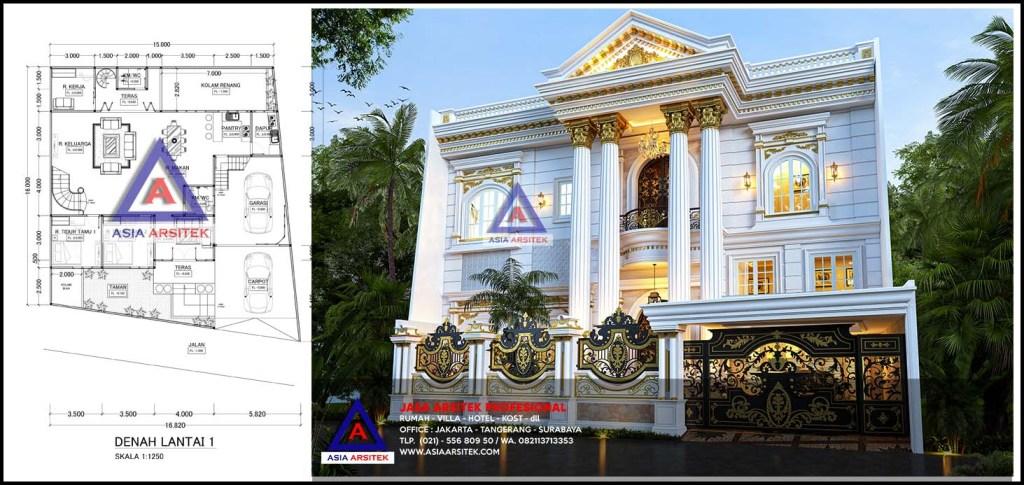 Jasa Arsitek Desain Rumah Klasik Mewah Di Cicendo Kota Bandung Jawa Barat
