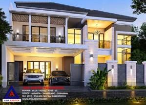 Jasa Arsitek Desain Rumah Tinggal Minimalis 2 Lantai Di Bekasi Jawa Barat