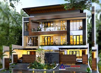 Jasa Arsitek Desain Rumah Mewah Minimalis Kontemporer di Ancol Pademangan Jakarta Utara