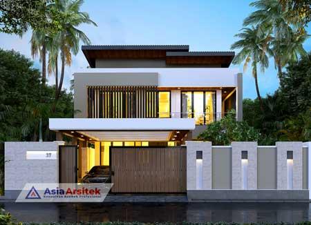 Jasa Arsitek Desain Rumah Minimalis Modern 2 Lantai di Bali
