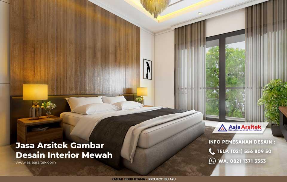 Jasa Arsitek Desain Interior Rumah Minimalis Ibu Ayu di Bekasi