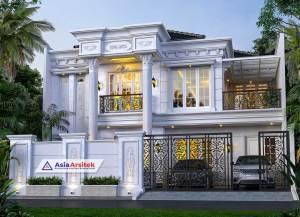 Jasa Desain Rumah Klasik 2 Lantai di Jatinegara Jakarta Timur
