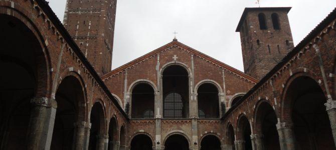 Visiting Milan's Sforza Castle and Roman basilica