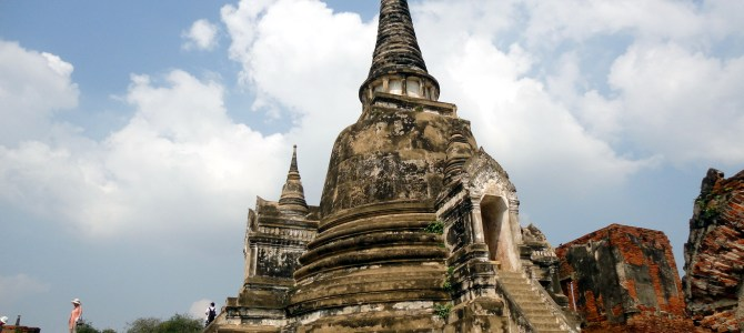 Thailand's old capital of Ayutthaya