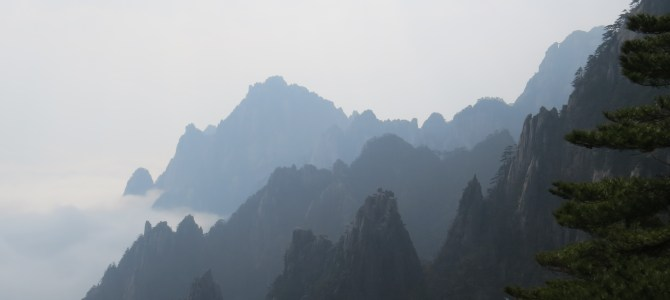 Hiking Huangshan, one of China's most beautiful mountains