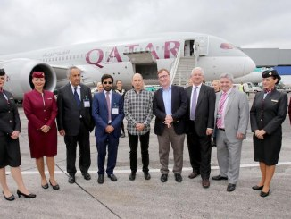 Qatar airways Dublin