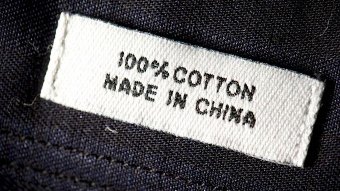 made in china lable