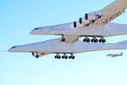 Stratolaunch, world's largest aircraft, makes maiden flight