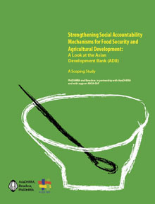 Strengthening Social Accountability Mechanisms For Food Security And Agricultural Development