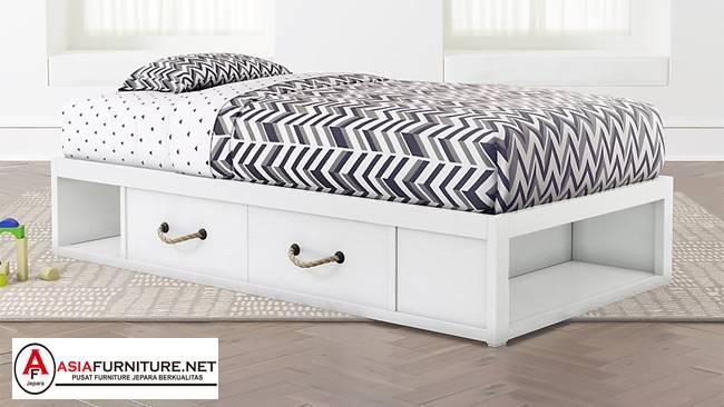 Tempat Tidur Anak Laci Minimalis